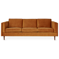 Rust Sofa Rust Colored Sofa Cover Modern Sofas - TheSofa