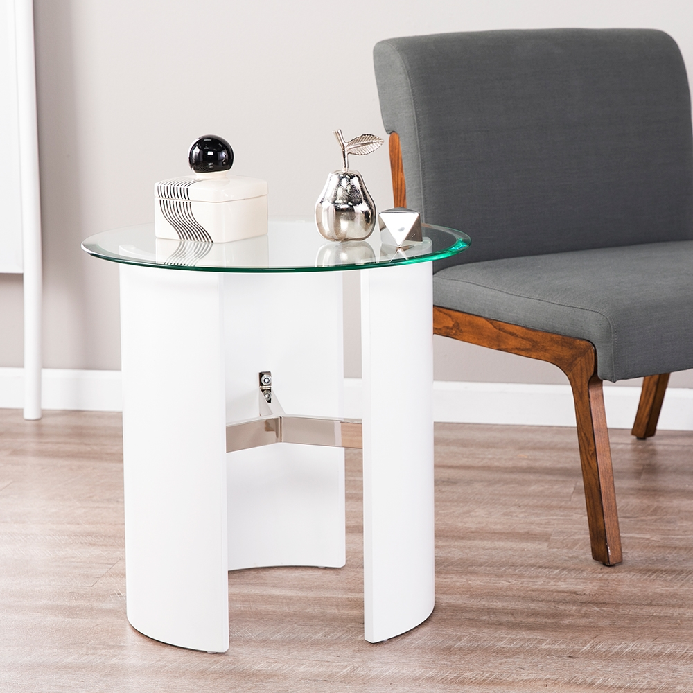 chair side tables canada massage modern end table eurway white glass top
