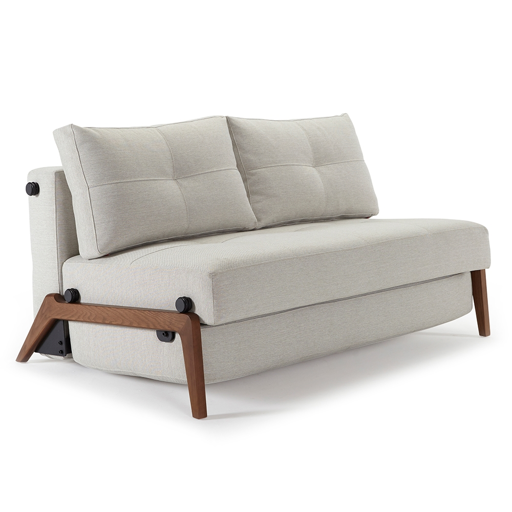 cubed queen sleeper sofa natural wood