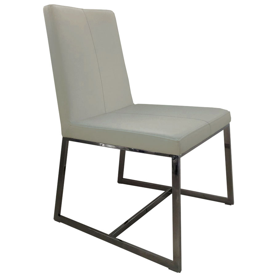 Modern Dining Chairs  Egbert Taupe Dining Chair  Eurway