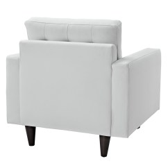 Hanging Lounge Chair Canada Cream Upholstered Dining Chairs Modern | Enfield White Leather Eurway