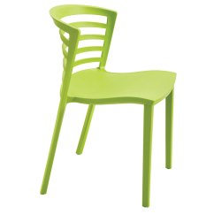 Outdoor Stackable Chairs Canada Attachable High Chair To Table Enigma Modern Green Dining | Eurway Furniture
