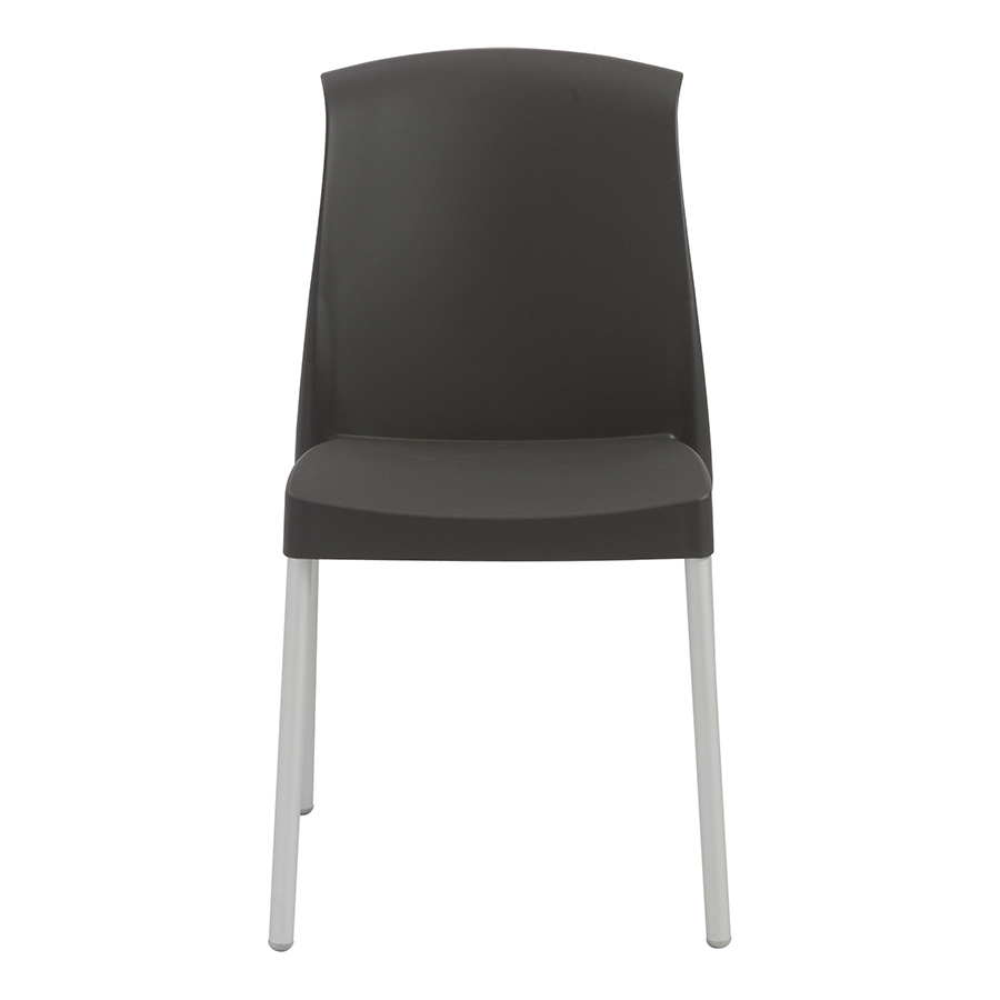 Jenny Anthracite Modern Stacking Chair Eurway