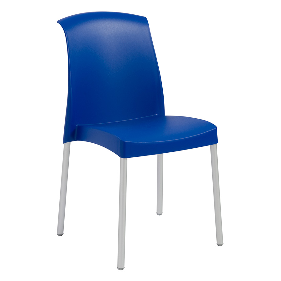 Jenny Blue Modern Stacking Chair Eurway Furniture