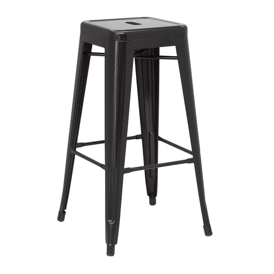 metal kitchen chairs canada best power lift chair reviews metro backless black bar stool | eurway modern
