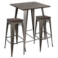 Modern Bar Sets | Oakland Antique Bar Set | Eurway
