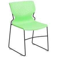 Modern Guest Chairs | Ruth Green Visitor Chair | Eurway