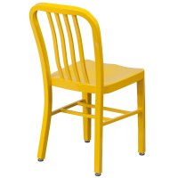 Stamford Modern Yellow Outdoor Dining Chair | Eurway