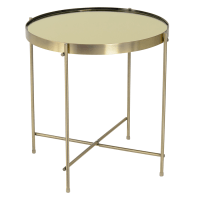 Modern End Tables | Trilogy Brass Side Table | Eurway