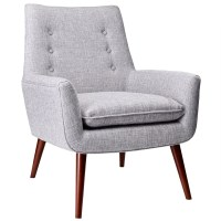 Modern Chairs | Anderson Light Grey Chair | Eurway