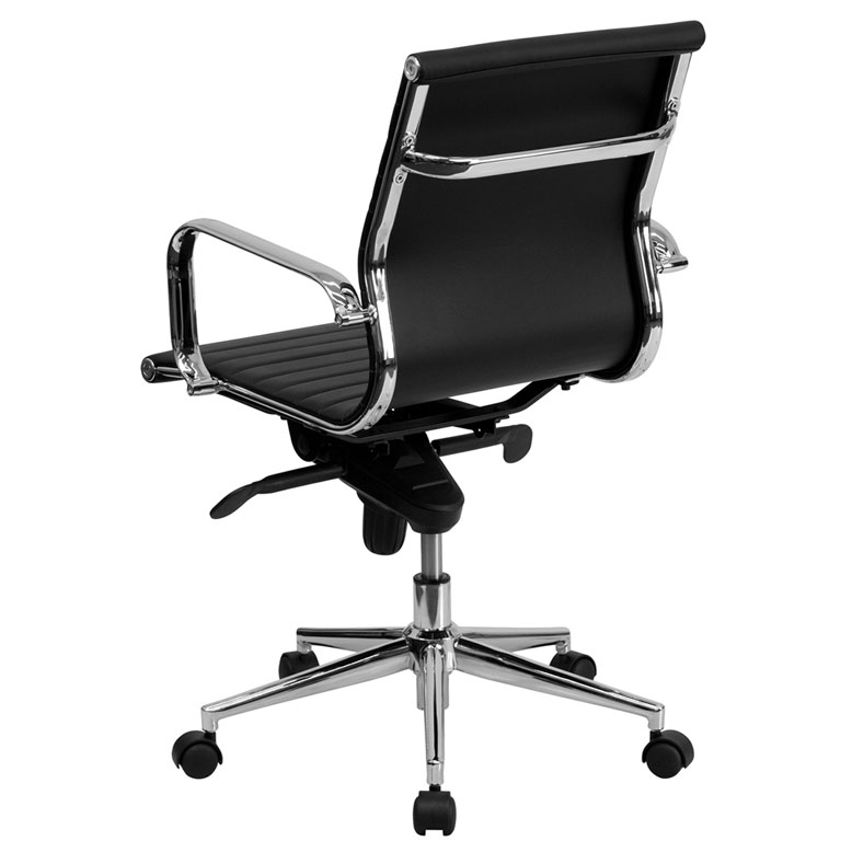Channel Modern Mid Back Office Chair  Eurway Furniture