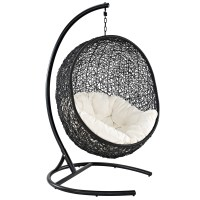 nest outdoor hanging chair | modern outdoor lounge chairs ...
