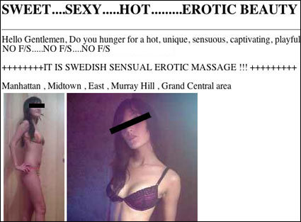 A sample of a typical censored ad...