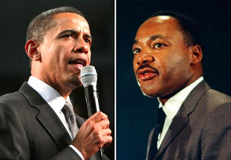 Image result for barack obama martin luther king