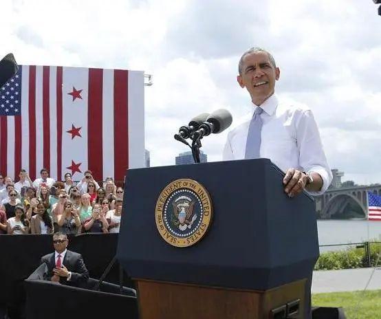 obama - key bridge