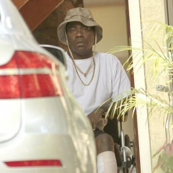 tracy morgan in wheelchair