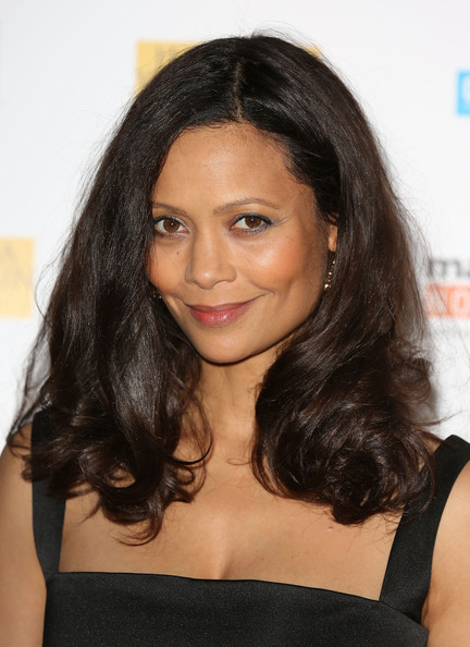 Thandie Newton attends the UK Premiere of 'Half Of A Yellow Sun' at Odeon Streatham on April 8, 2014 in London, England