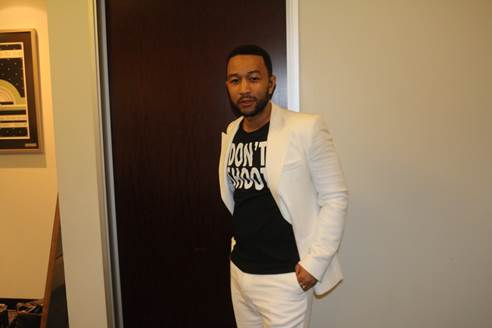John Legend, Chuck D, Lauryn Hill & More Rally for Mike Brown