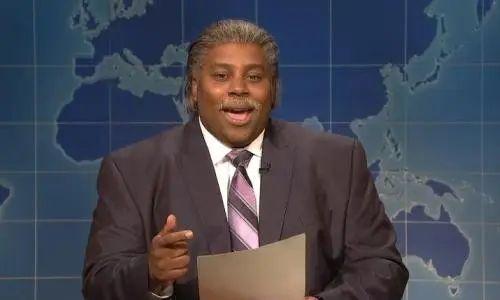 SNL Spoofs NY Times Secret Service Story - SNL's Keenan Thompson Spoofs Al Sharpton