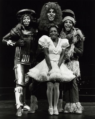 Stephanie Mills in The Wiz on Broadway