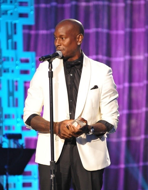 Tyrese at the 2015 Trumph Awards in Atlanta