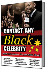 Contact Any Black Celebrity With New E-Book Available Now