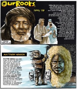 our roots - tippu tib & matthew henson