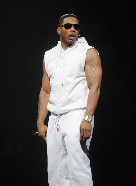 Hip-hop artist Nelly performs at Madison Square Garden on June 21, 2015 in New York City.