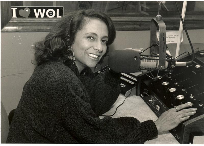 Cathy Hughes, WOL-AM radio station