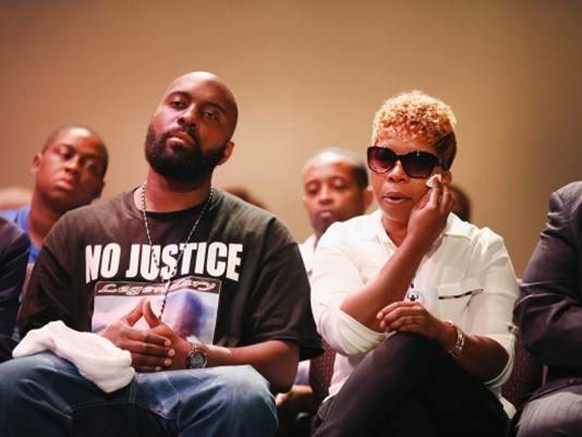 mike brown's parents