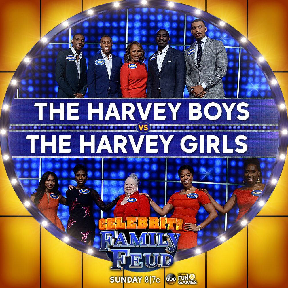 Steve Harvey's Family to Face Off on 'Celebrity Family Feud'