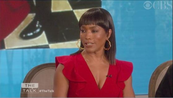 angela bassett (screenshot - the talk)