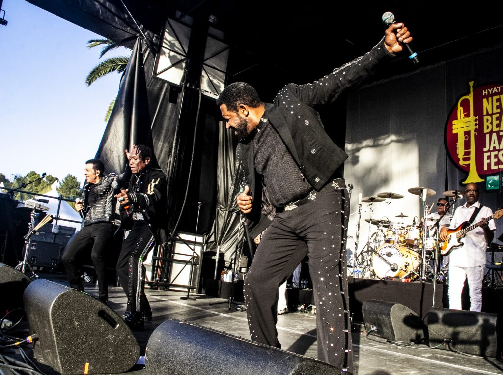 The Commodores Show Out At Newport Beach Jazz Festival