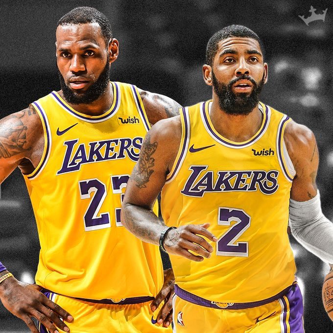 sale retailer aa4b2 726d2 Kyrie Irving Reportedly Wants on #TeamLakers & Reunion with ...