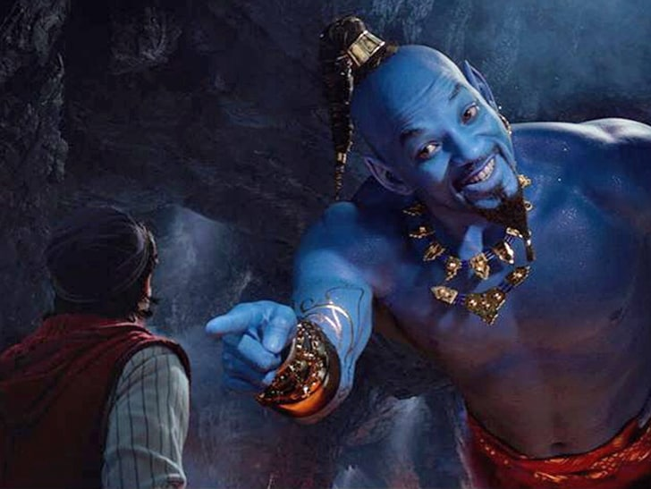 Will Smith Genie: Is Will Smith A Tad Too Blue For You As Aladdin?