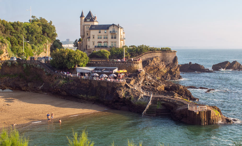 Playa Port Vieux - Biarritz, France