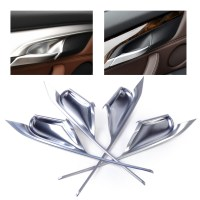 Silver Chrome Plated Interior Door Handle Bowl Cover Trim ...