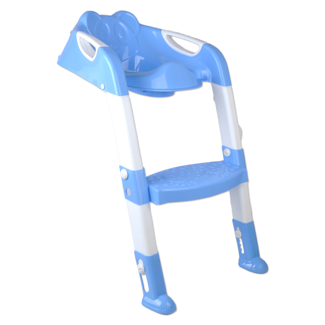 potty chair with ladder outdoor wooden folding chairs kids toilet trainer seat toddler