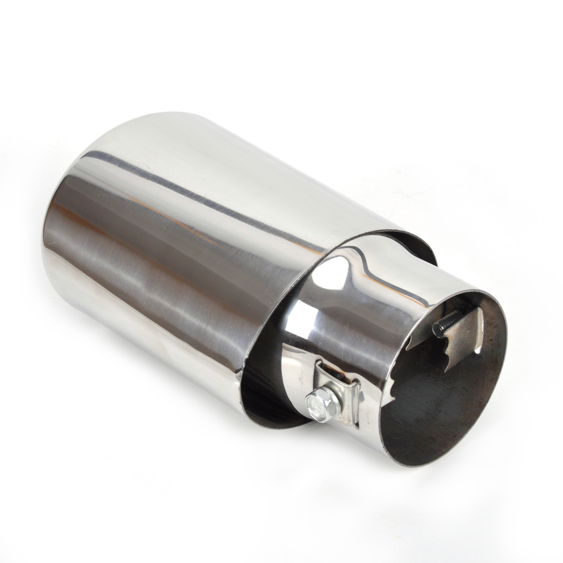 toyota yaris trd exhaust modifikasi grand new avanza 2016 stainless steel tailpipe rear muffler tip for