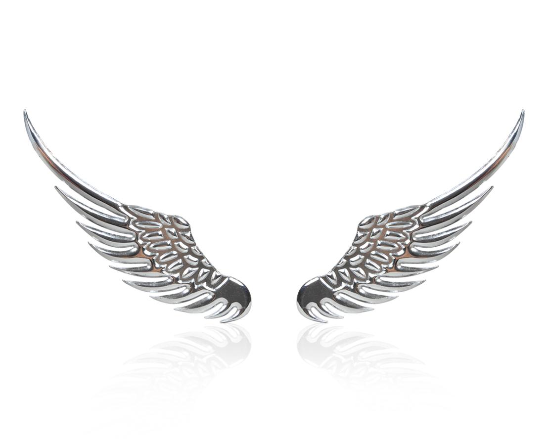 Angel Wings Car Window Bumper Body Badge Sticker Decal