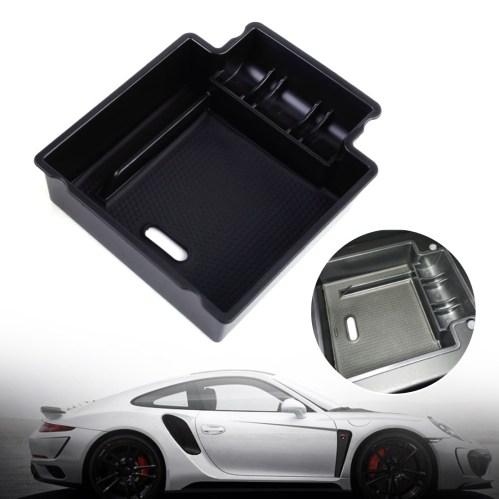 small resolution of car glove box armrest secondary storage box for 2006 2015 porsche
