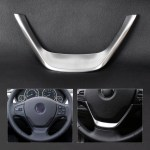 Chrome Steering Wheel Cover Trim Fit For Bmw 1 Series F20 114i 3 Series F30 13 Ebay