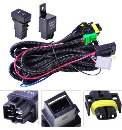 wiring harness sockets switch for h11 fog light lamp ford focus acura nissan 728360607010  [ 1110 x 1110 Pixel ]