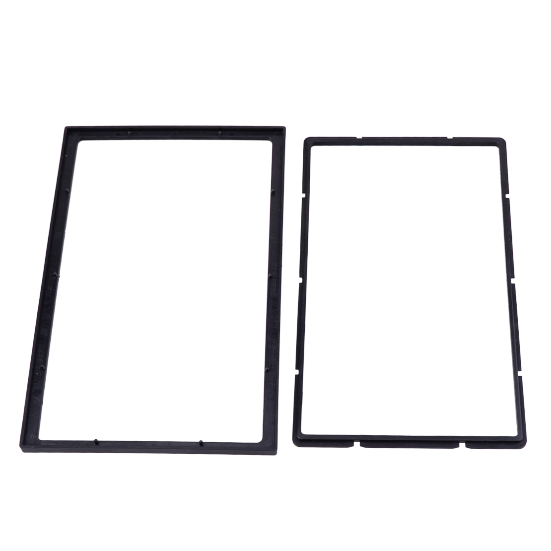 2din Install Dash Bezel Panel Mounting Frame For Car