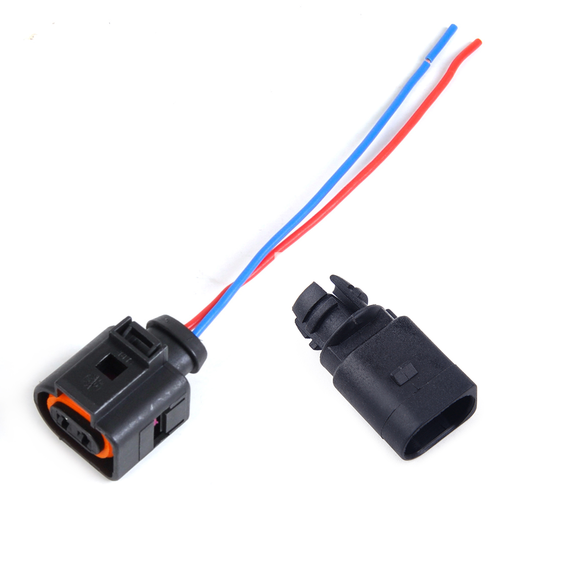hight resolution of details about ambient air temperature sensor 2 pin connector plug wiring harness for audi vw