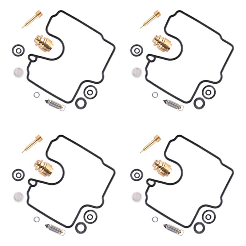 4Set Carburetor Carb Repair Kits Fit For Kawasaki ZX6R 98