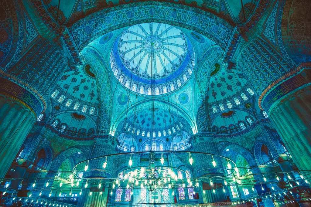 الجامع الازرق مسجد السلطان احمد اسطنبول