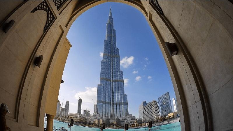 برج خليفة السياحة في دبي