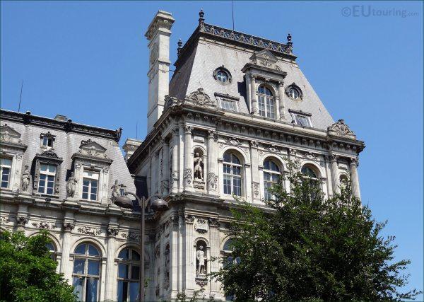 Hd Of Hotel De Ville In Paris France