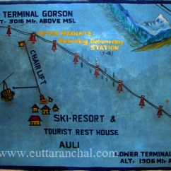Steel Airport Chair Orange Plastic Chairs Auli Ropeway Uttarakhand - Cable Car Prices Best Season